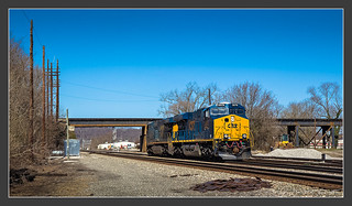 CSX without train, 03/28/2013