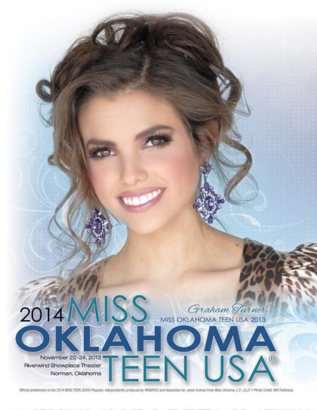 Miss Oklahoma Teen Usa 2014 Magazine Cover Official Magazi Flickr
