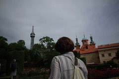 on Petrin Hill, Praha