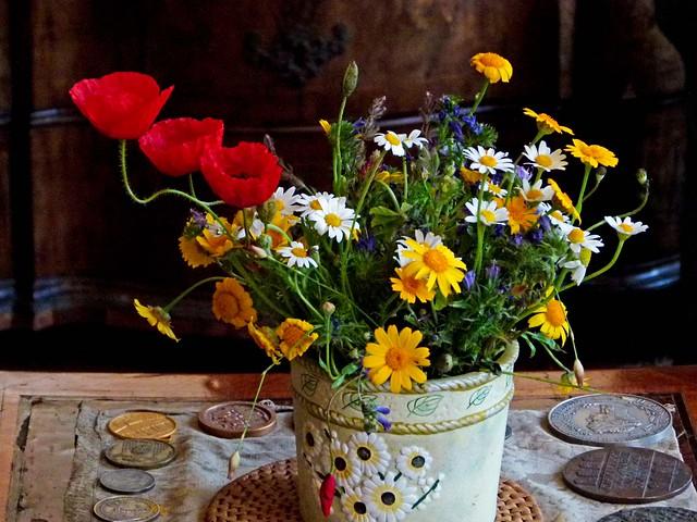 Fiori di campo in vaso