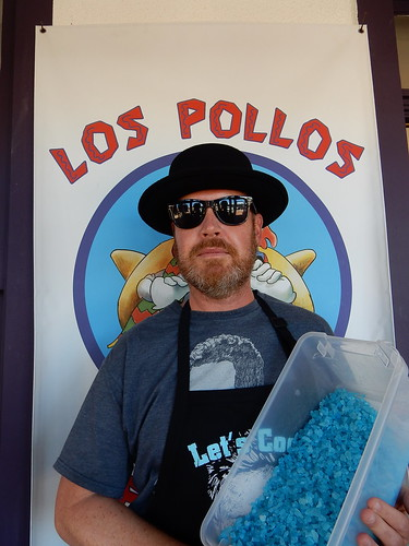 Albuquerque - Breaking Bad - bij de Candy Lady als Walter White