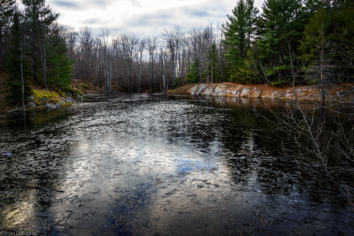 november autumn trees fall ice water reflections whitepine 2015 beaverpond d610 skyreflections november2015 raspberryrock briandtucker