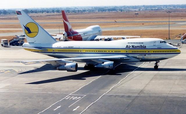 V5-SPF  747-SP  Air Namibia