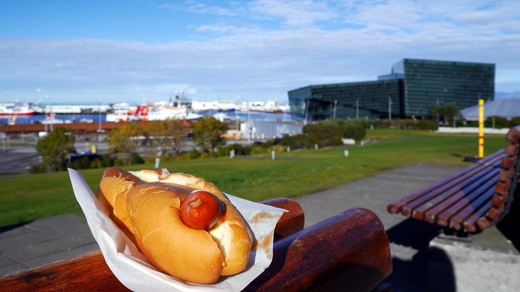 Hot Dog with a View