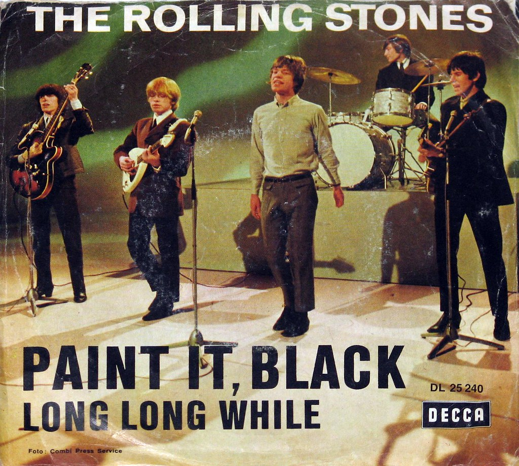 Rolling Stones Paint it Black 7' Single