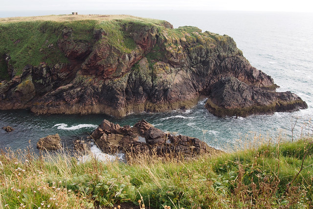 The coast south of Boddam