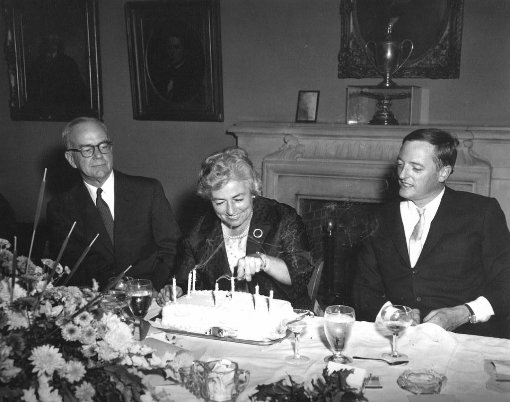James Burnham, Priscilla Buckley, William F. Buckley, Jr. … | Flickr