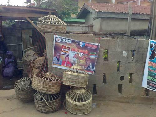 chickenbaskets oshogbo osun nigeria jujufilms africanculture marketscene streetmarket jujufilmstv photography