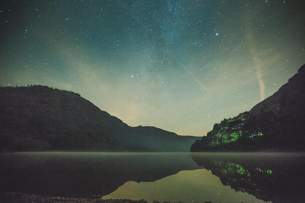 Perseids Glendalough Upper Lake