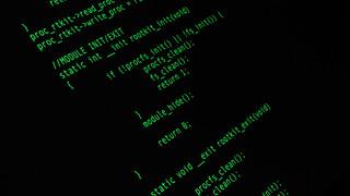 Rootkit code   by Christiaan Colen