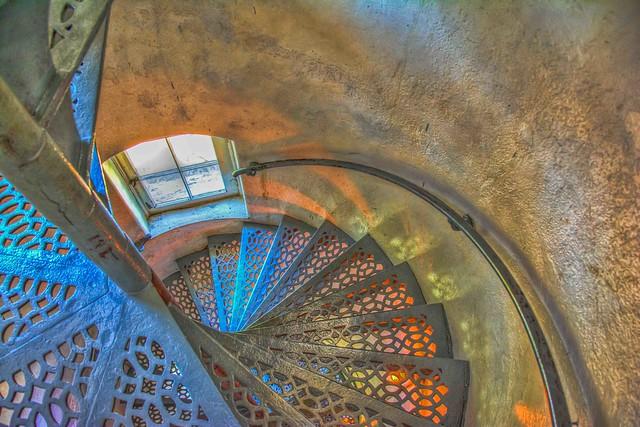 McGulpinPoint Lighthouse Stairway