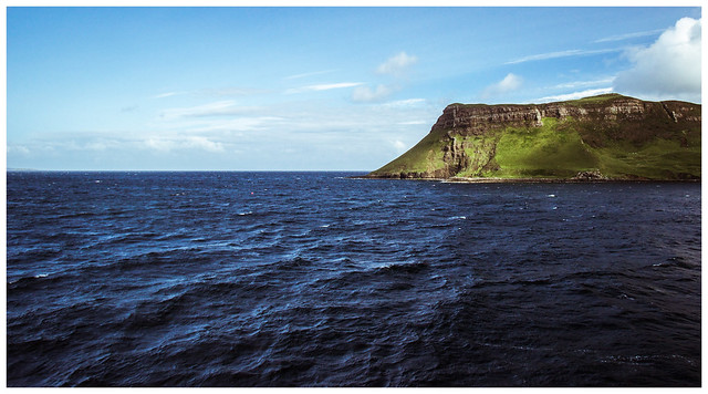 Leaving Uig, Isle of Skye
