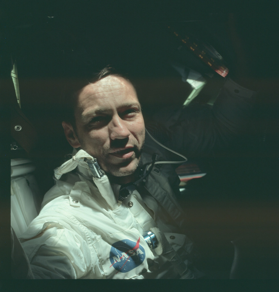 AS07-4-1583 | Apollo 7 Hasselblad image from film magazine ...