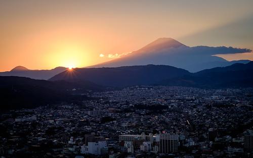 park city sunset sun mountain beautiful japan evening fuji jp fujisan fujifilm dust kanagawa mtfuji worldheritage hadano kanagawaken xt1 hadanoshi koboyama
