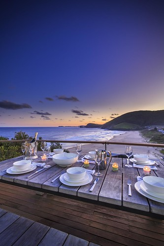 sunset holiday beach dinner realestate australia