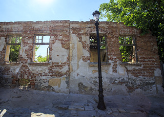 Ruined wall, Plovdiv | by Hans van der Boom