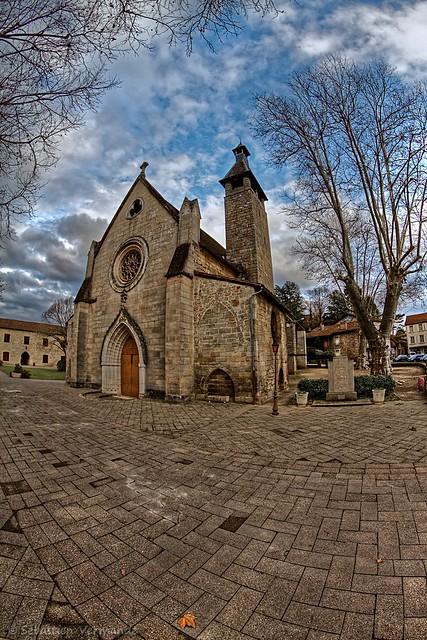 Église des Carmes de Figeac 46100 France