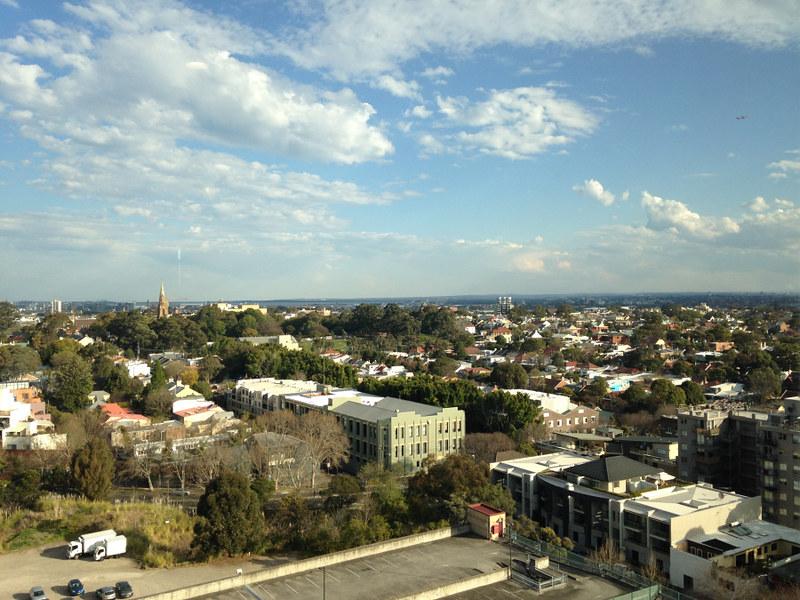 Jugan, Ashleigh; Sydney, Australia - Queen Mary building rooftop