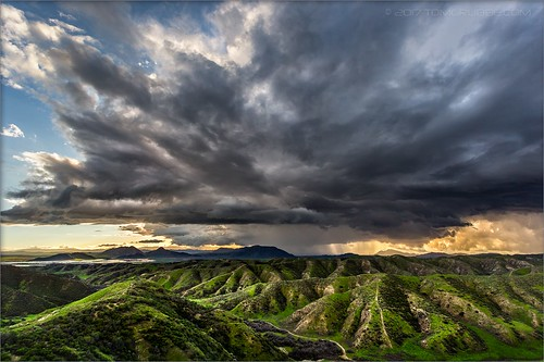 jackrabbittrail trail hills green spring clouds storm rain countryside california landscape