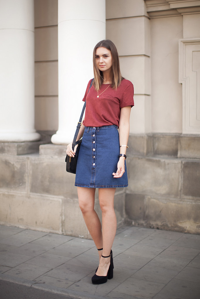 on wholesale great discount for boy a-line-denim-skirt-outfit-ideas   Nika Huk   Flickr