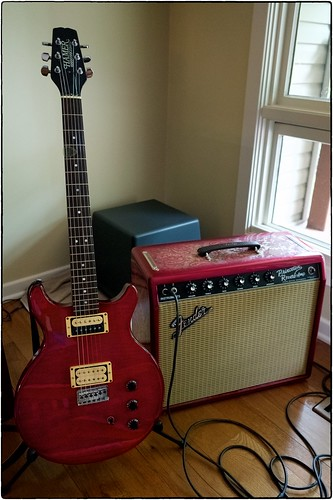 My 1981 Hamer Special And Paisley Princeton Reverb, September 17, 2015 | by Maggie Osterberg