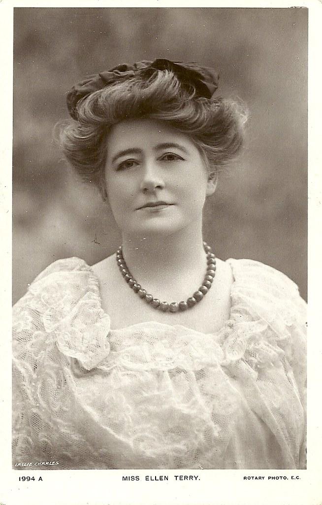 Vintage Post Card Miss Ellen Terry