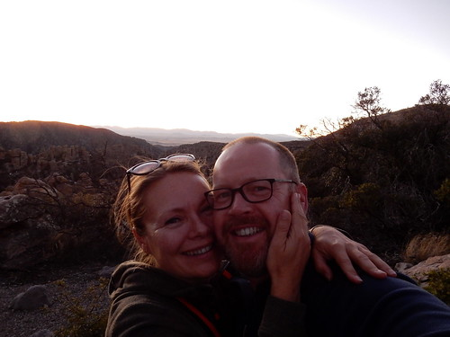 Chiricahua NM - sunset - 2