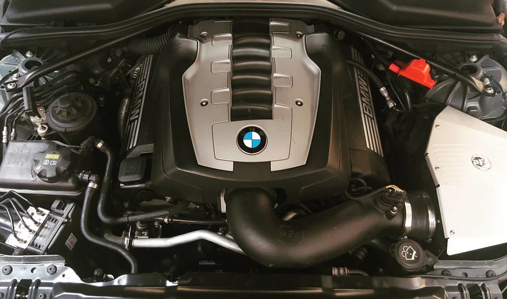 2008 #BMW #550i in for an oil pressure sensor replacement … | Flickr