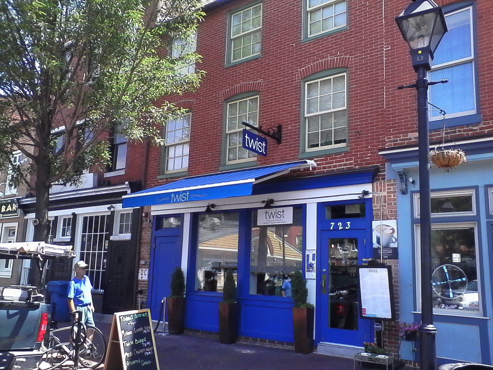 Commercial Retractable Restaurant Awning