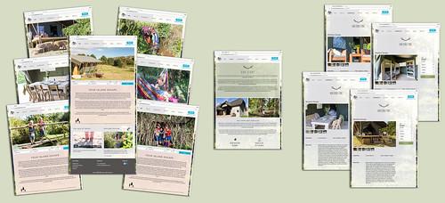Sibbecks Farm Glamping website | by s0ulsurfing
