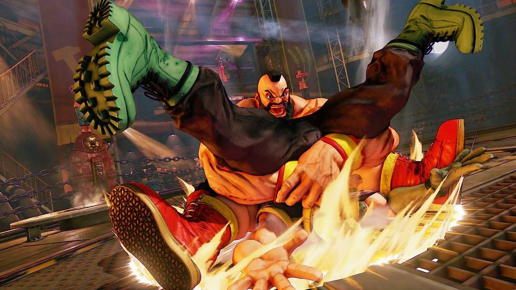 Street Fighter V Zangief Playstation Blog Flickr