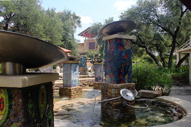 Fountain at La Cantera