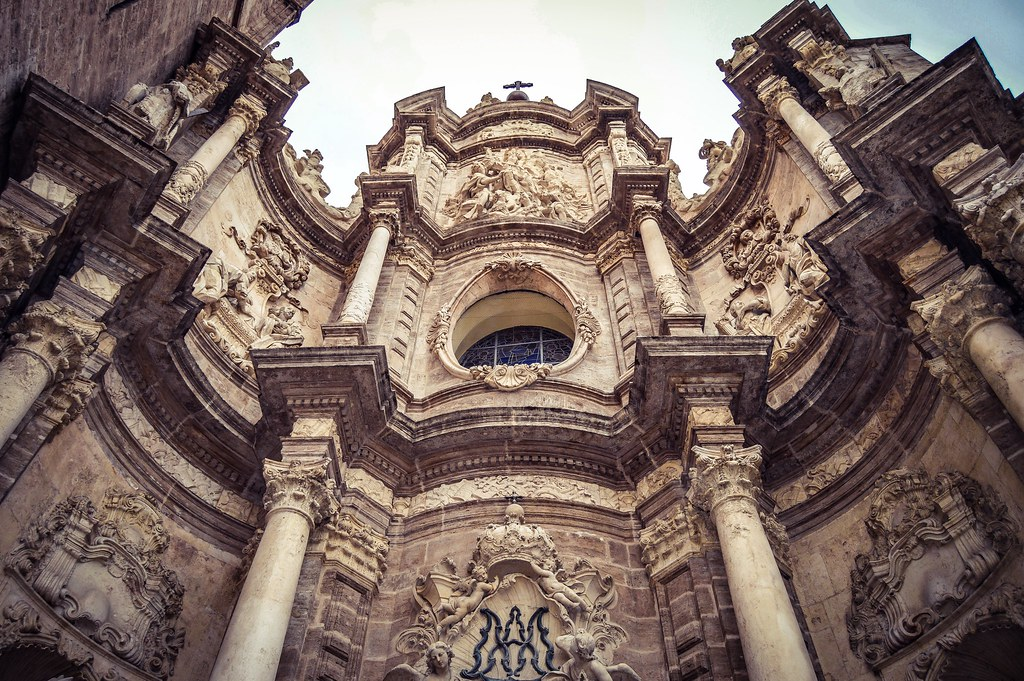 Catedral de Valencia, Fachada Barroca (Valencia - Spain)