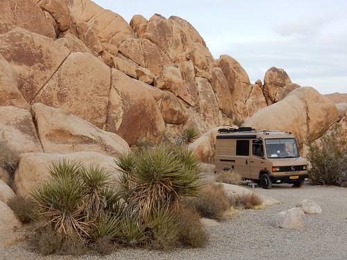 Joshua Tree NP - Indian Cove - camping