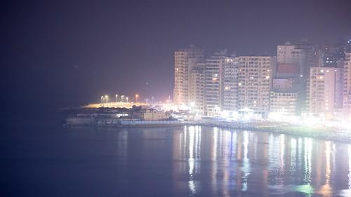 Alexandria's city lights   by Kodak Agfa