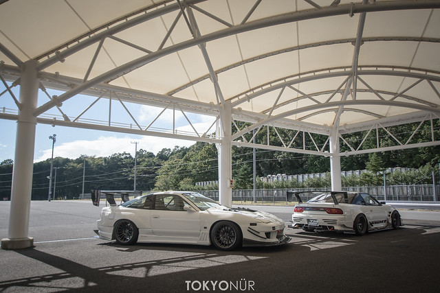 Fun ride sharing x Narita Dog Fight Car Meet 2016 at Fuji Speedway