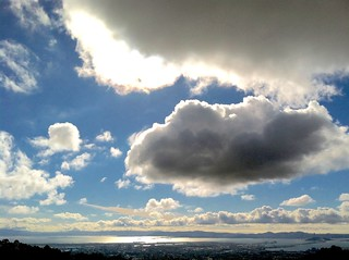 Clouds, from the Berkeley Hills  Version 2 | by wbaiv