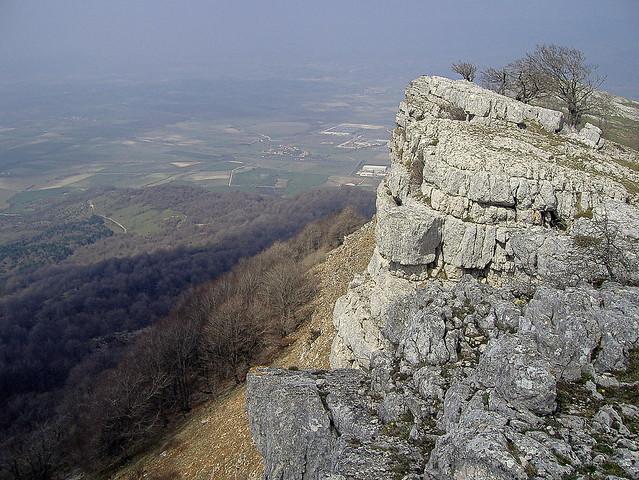 Otoño en las laderas de Entzia