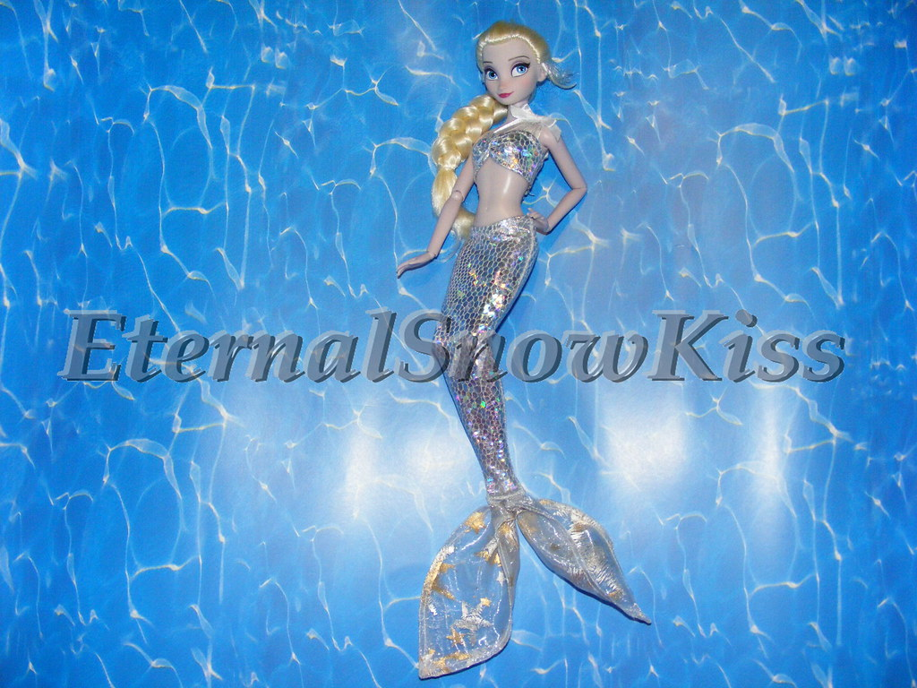 Melted - Mermaid Elsa | Tutorial by request: www youtube com