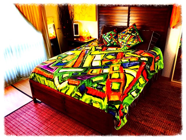 Uptown Oakland Duvet by Octavious Sage https://society6.com/product/uptown-oakland_duvet-cover#46=382