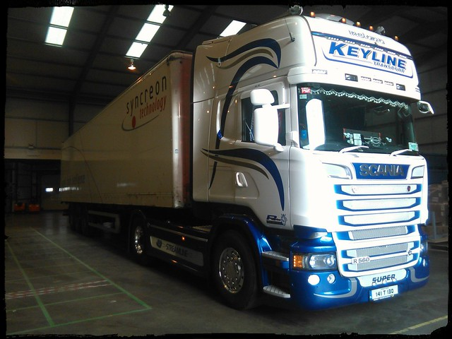 Keyline Transport Scania R560 V8