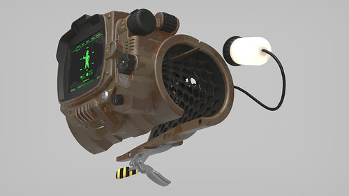 Pip-Boy 3000 Mk4, Render Series 3, Functions | by ZapWizard