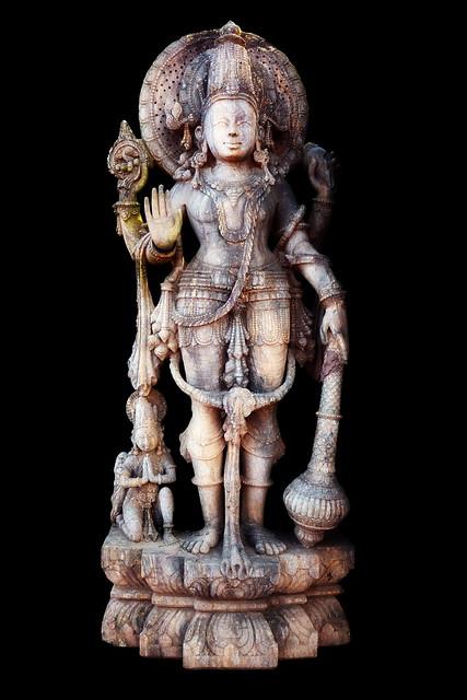 India - Odisha - Bhubaneswar - Vishnu - Variation 3