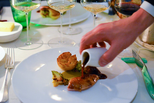 5th course: Roasted Red Leg Partridge, Cauliflower, Capers | by Fran Azafrán