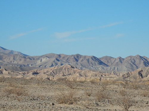 Anza-Borrego Desert SP - Badlands - 2