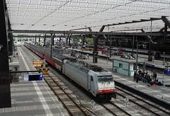 NSH Traxx 186 236 + Fyra 941 te Rotterdam CS