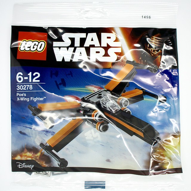 LEGO Star Wars - Poe's X-wing Fighter (30278)