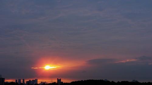 sunrise hospital geotagged 東京 病院 夜明け 世田谷区 setagayaku tōkyō kamiyōga kanchu 関東中央病院 関中 上用賀六丁目 geo:lat=35630361 geo:lon=139625805