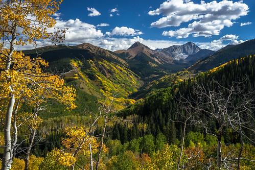 autumn colorado fallcolors aspen elkrange capitolpeak mountdaly capitolcreek