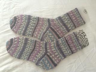 Oak Ribbed Socks again